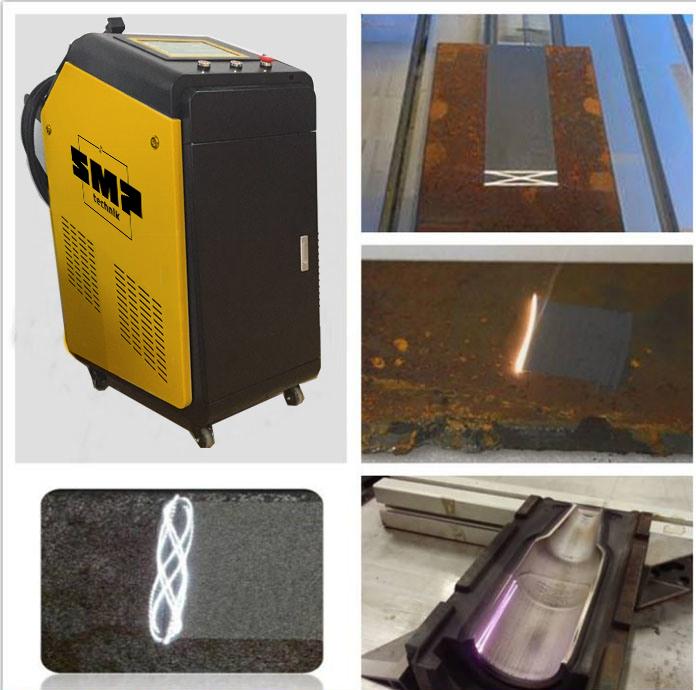 наглядное изображение готовой чистки металла